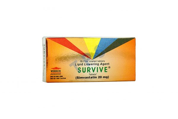 Survive Tablet 20mg