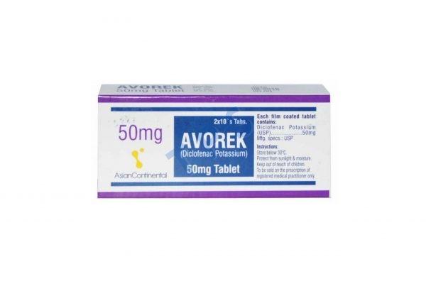 Avorek Tablet 50mg