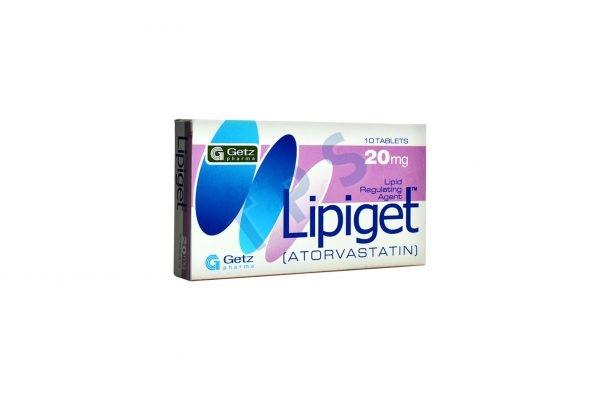 Lipiget Tablet 20mg