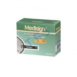 Medisign Blood Glucose Strip 2x25s