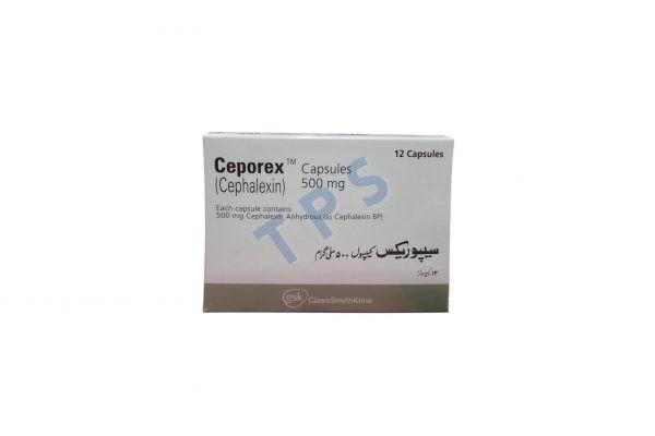 Ceporex Capsules 500mg