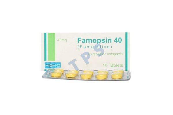 FAMOPSIN 40mg TABLETS