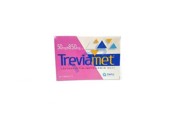 Treviamet 50/850mg Tablets