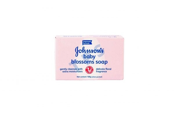 Johnsons Baby Soap Blossoms 100GM