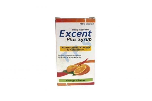 Excent 120ml Plus Syrup