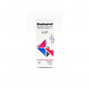 Blephapred Ointment 3.5gm