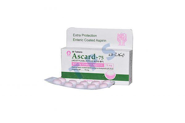 Ascard 75mg Tablets