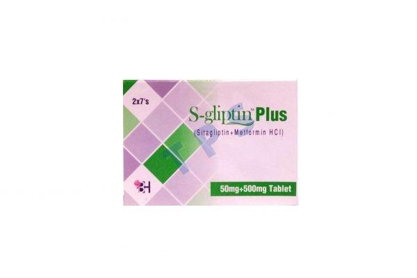 S-Gliptin Plus Tablets 50mg+500mg