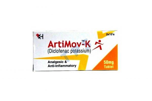 Artimov-K Tablets 50mg