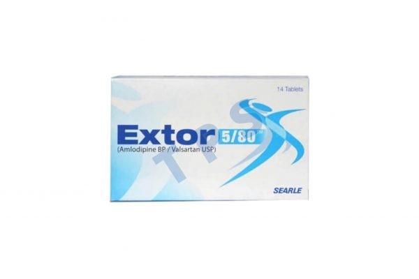Extor Tablets 5/80mg