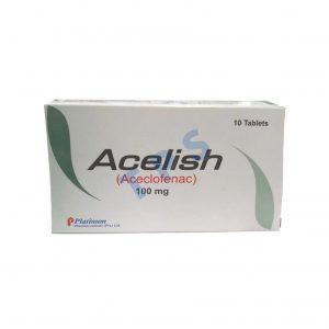 Acelish 100mg Tablet