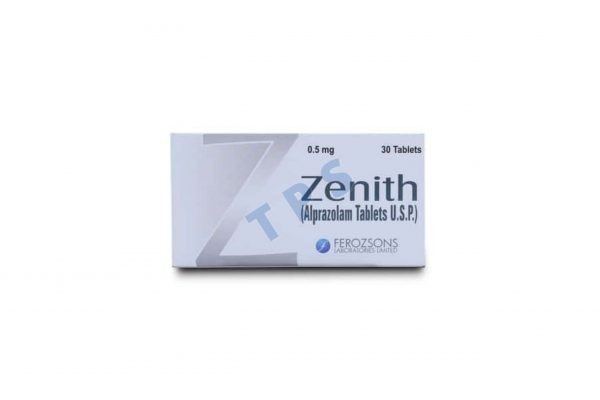 Zenith 0.5mg Tablet