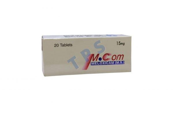 Mcom 15mg Tablets