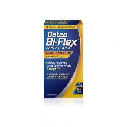 OSTEO BIFLEX TS+ VIT D3 80CT