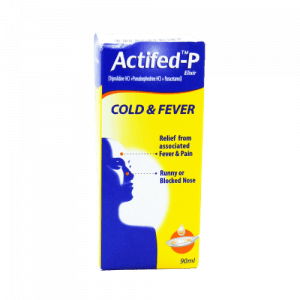 Actifed P 90ml Cough Syrup