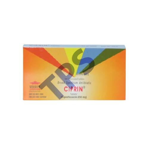 Ciprin Tablets 250mg