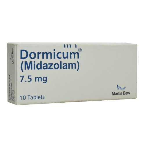 Dormicum Tablets 7.5mg
