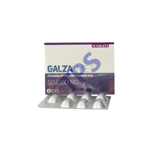Galza-Met Tablet 50/500mg