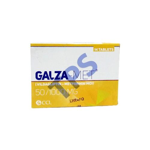 Galza Met Tablet 50/1000