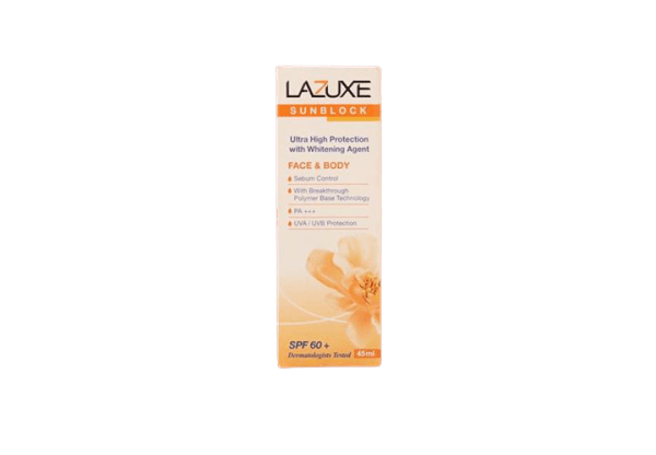 Lazuxe Sunblock SPF60 45ml