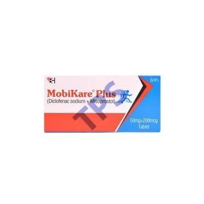 Mobikare Plus Tablets 50mg+200mcg