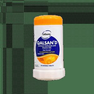 Qalsan D Chew Tablets Orange
