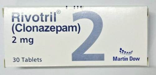 Rivotril Tablets 2mg