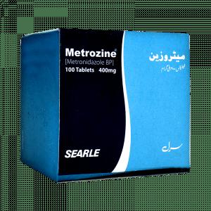 Metrozine 400mg Tablets