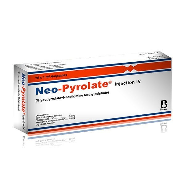 Neo-Pyrolate Injection 10 Ampoules X 1ml