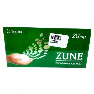 Zune 20mg Tablets