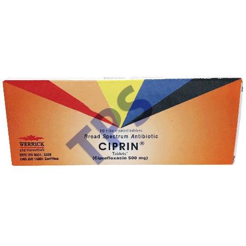 Ciprin Tablets 500mg