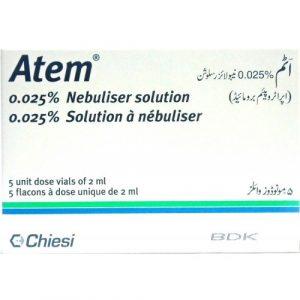 Atem Nebulizer Solution 250mcg